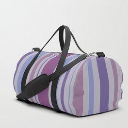 Striped Pattern (ultraviolet rhapsody) Duffle Bag