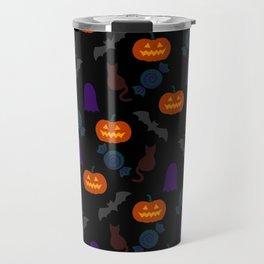 Halloween Pattern BK Travel Mug