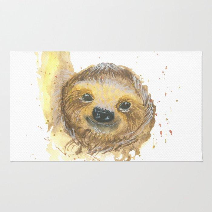 Sloth Bob Rug