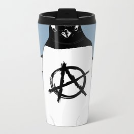 Anarchy in the Antarctic Metal Travel Mug