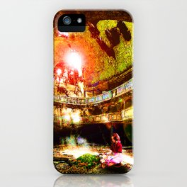 The Flower Girl - Final Fantasy VII iPhone Case