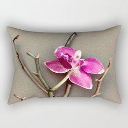 Fuchsia Orchid in the Summer Rectangular Pillow