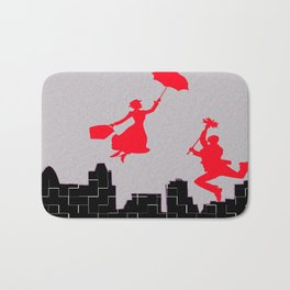 Mary Poppins squares Bath Mat