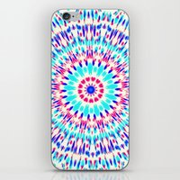 cosmic iPhone & iPod Skins featuring Cosmic by Abstracts by Josrick