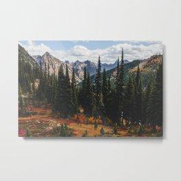 Autumn in North Cascades Metal Print