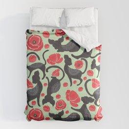 The Cat Print Comforters