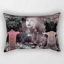 Fireworks Of The Mind Rectangular Pillow