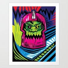 xTRAPJAWx Art Print