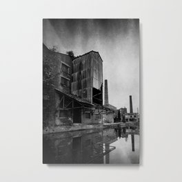 Victorian Mill, Salts Mill, Saltaire, West Yorkshire - UK Metal Print