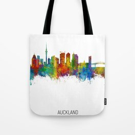 Auckland New Zealand Skyline Tote Bag