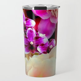 Pinkish, Pinker, And Far Out Pink Travel Mug