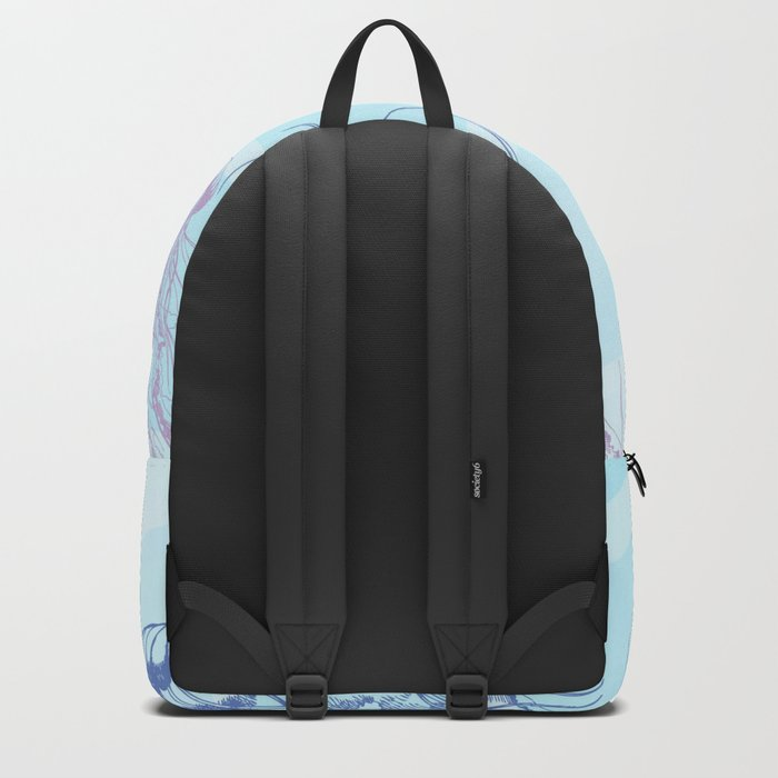 Marine Pattern 05 Backpack