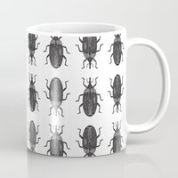 beetle Mugs featuring Beetle by Najla