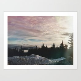 Northwest Sky Art Print