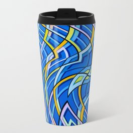 geometric abstraction Travel Mug