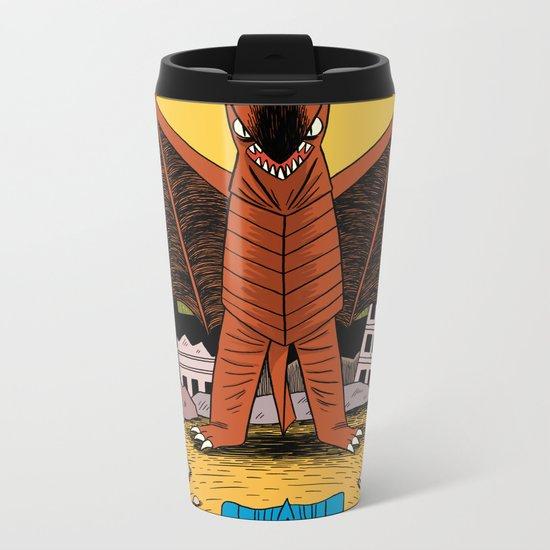 Kaiju Battle! Metal Travel Mug