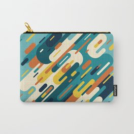 Retro Lines Carry-All Pouch