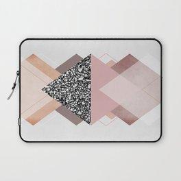 Geometric Textures 9 Laptop Sleeve