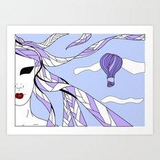 Elements - Air Art Print