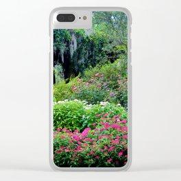 Pergola Garden Clear iPhone Case