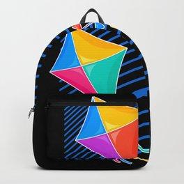 Kite Flying hang glider Kids Gift Backpack