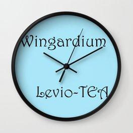 Wingardium Leviosa Wall Clock