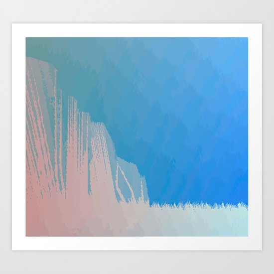 elongate Art Print