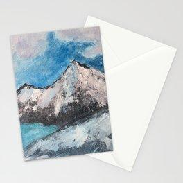 Moonrise Mountains Stationery Cards