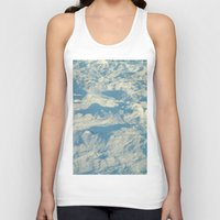 ice Tank Tops featuring Ice by Platinepearl