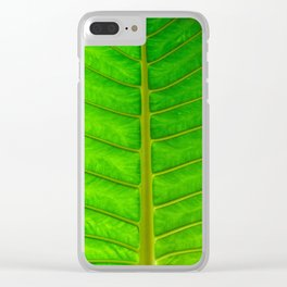 Palm Print Clear iPhone Case