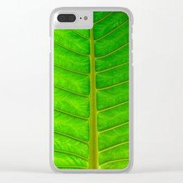 Palm Print Clear iPhone Case