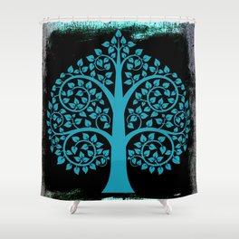 Bodhi Tree0107 Shower Curtain