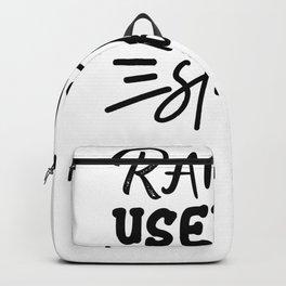 Tote Bag Design Random Useless Stuff Backpack