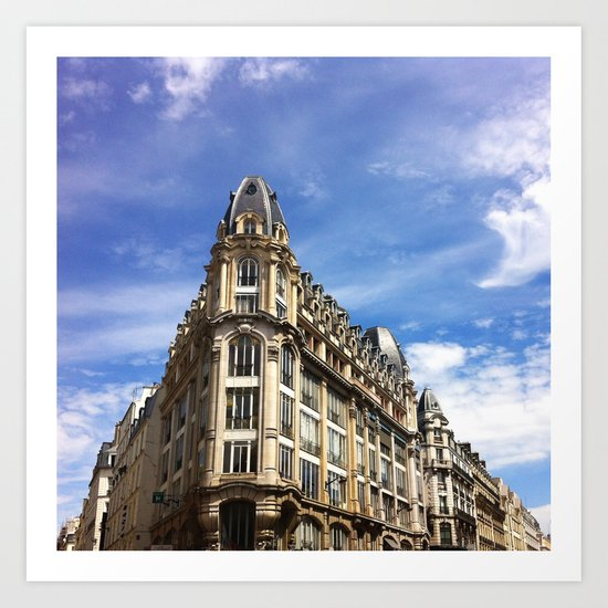 Paris Buildings Art Print