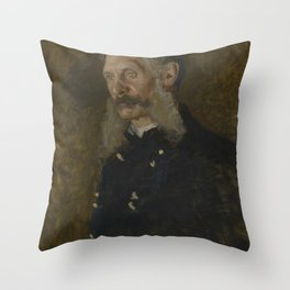 Thomas Eakins - General E Burd Grubb (1841-1914) Throw Pillow