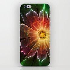 Neon Flower iPhone & iPod Skin
