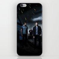 supernatural iPhone & iPod Skins featuring Supernatural by Clara J Aira