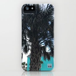 Palm trees in Myrtle Beach iPhone Case