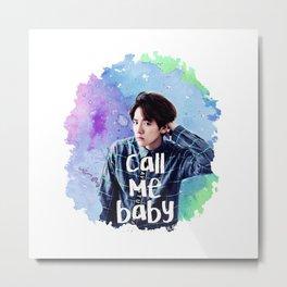 Call me Baekhyun Metal Print