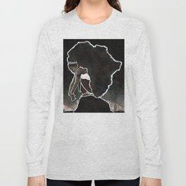 Africa Thinking Long Sleeve T-shirt