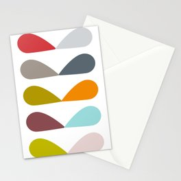 Leaves in Multi Stationery Cards