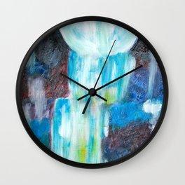 Moon Falls Wall Clock