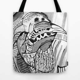 Bird of Debt Tote Bag