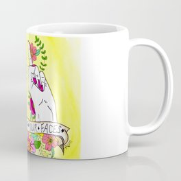 For Both of Your Faces Coffee Mug