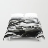 metal Duvet Covers featuring Metal by Christine Becksted Images