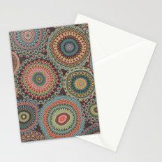 Boho Patchwork-Vintage colors Stationery Cards