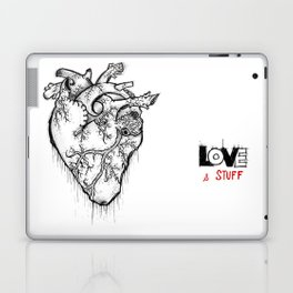 Heart Of Hearts: Outline & Stuff Laptop & iPad Skin