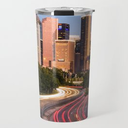 Curves in the road Travel Mug