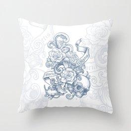 Gloria Invictis Aestus Throw Pillow