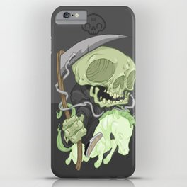 The Four Horsemen of the Apocalypse (Green) iPhone Case